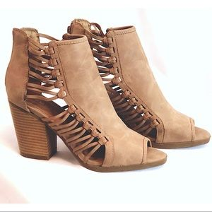 Brown sandal ankle bootie (SOLD)